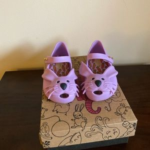 Mini Melissa toddler shoes T 6
